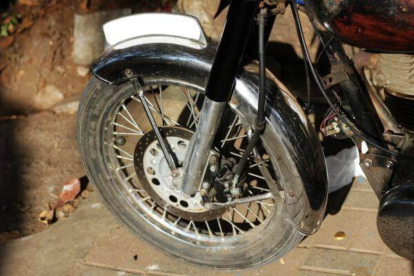 Old Bike Wheels photo