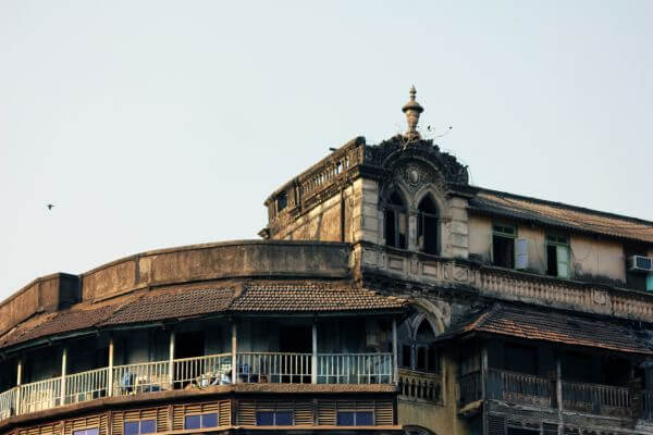 Old Building In Mumbai photo