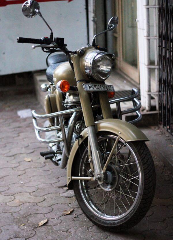 Old Motorcycle Bike 2 photo