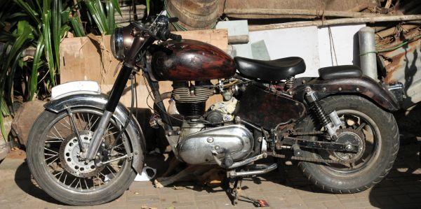 Old Motorcycle Bike photo