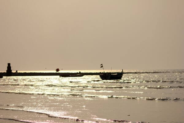 Sea Boat Floating photo