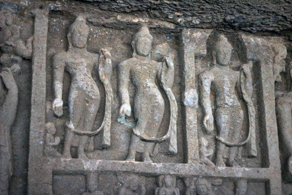 Statues Cave Carvings photo