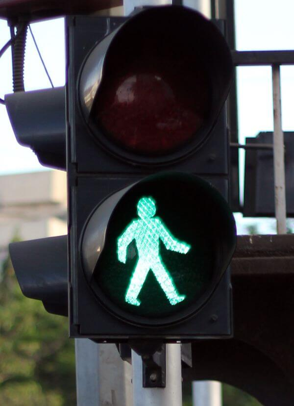 Walk Sign Traffic Signal photo