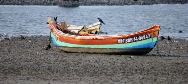 Boat On Beach photo