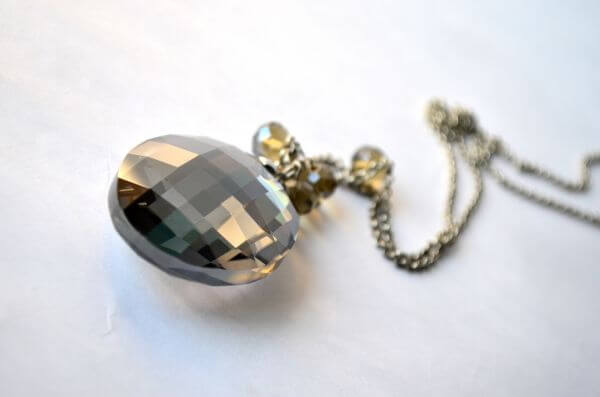 Crystal Necklace Pendant photo