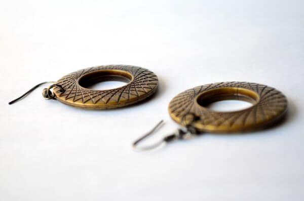 Earrings Ethnic photo