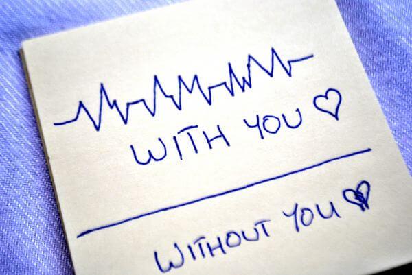 Love Card Heart Beats photo