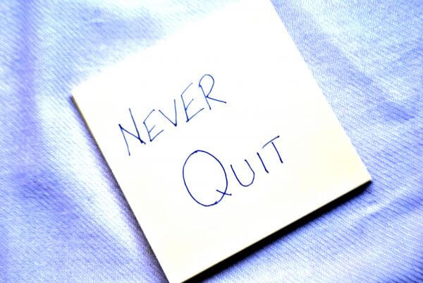Never Quit Card photo