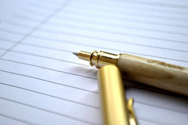 Pen Closeup photo