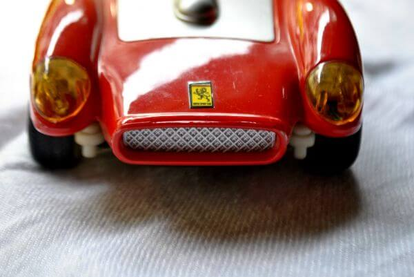 Red Color Toy Car photo