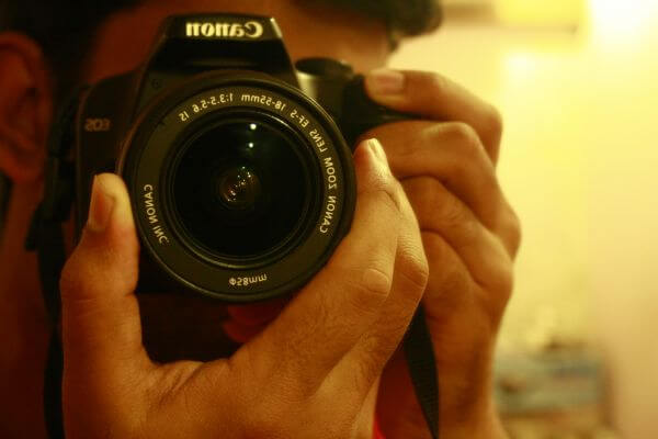 Cameraman Mirror photo