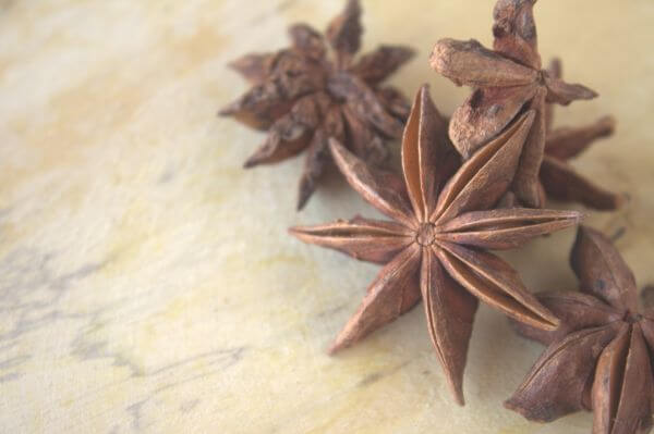 Spices Indian Star Shaped photo