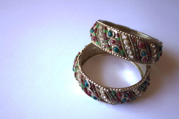 Bangles Indian Jewelry photo