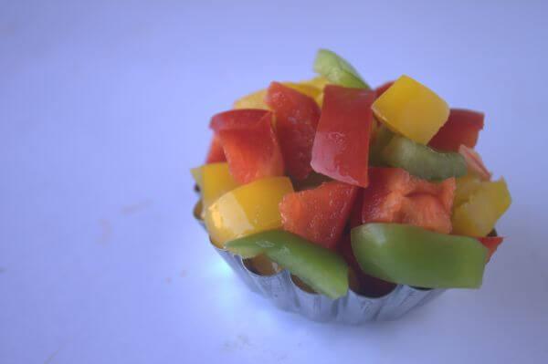 Fruits Vegetable Salad photo