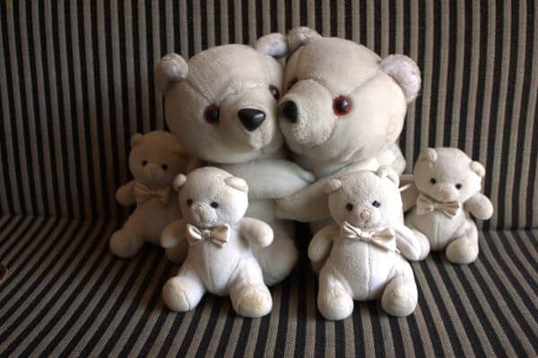 Teddy Bear Happy Family photo