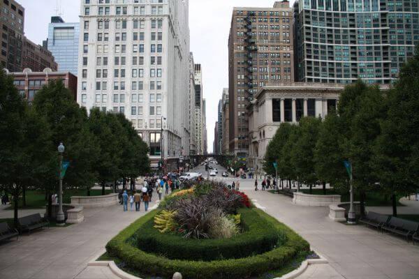 Chicago Street Scene photo