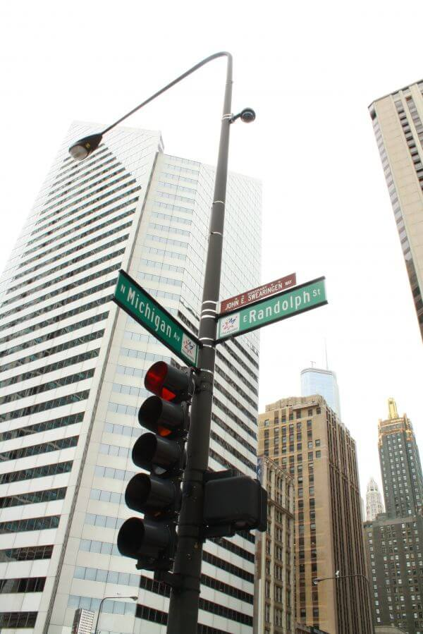 Chicago Street Signs photo