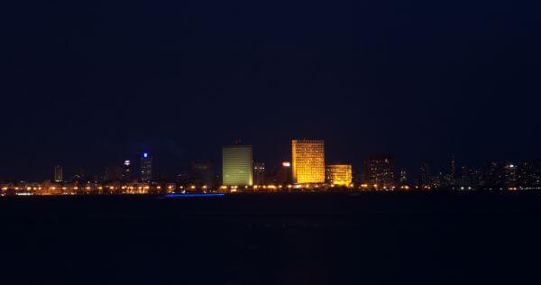 Mumbai Skyline Night photo