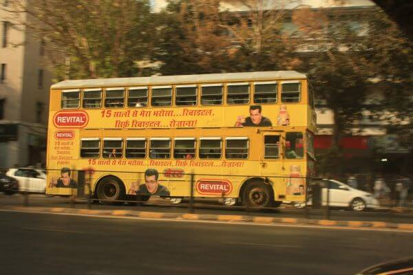 Double Decker Bus Mumbai photo
