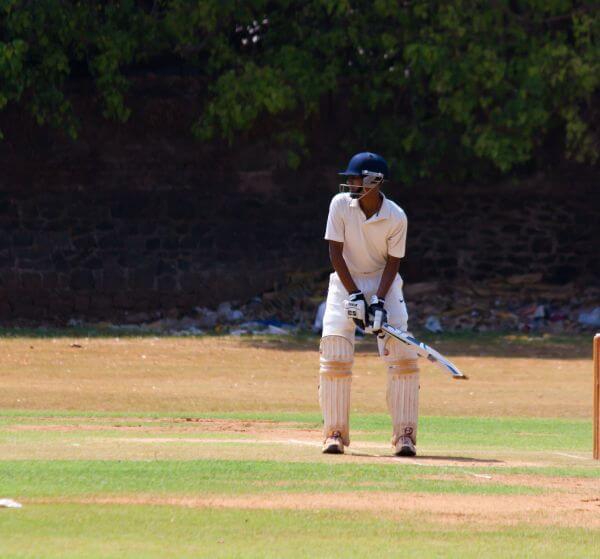 Batting Cricketer photo