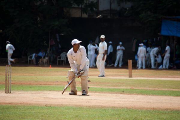 Cricket Practice Batsman photo