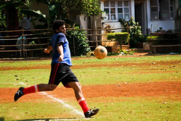 Football Kick Action Soccer photo