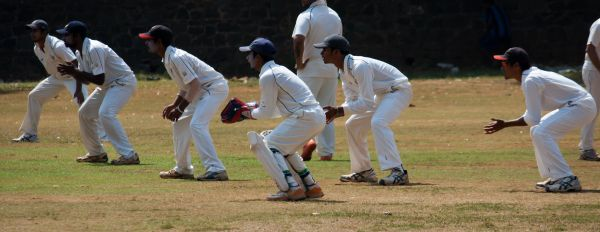 Slips Wicket Keeper Cricket Game photo
