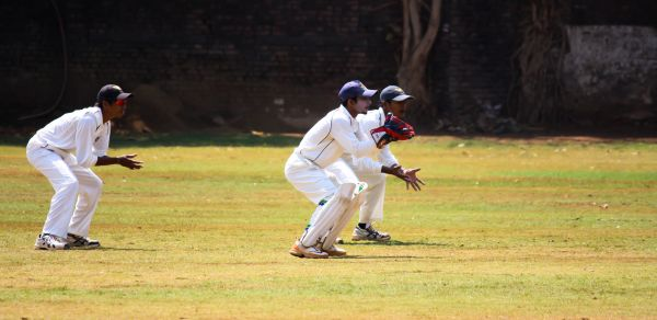 Wicket Keeper And Slips photo