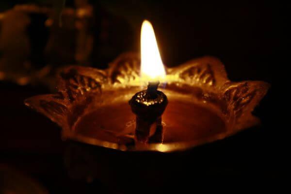 Diya Lamp Flame Hinduism photo