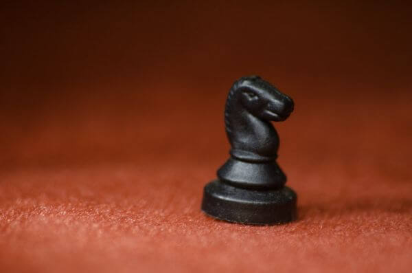 Knight Chess Black photo