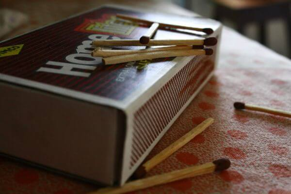Matchsticks Matchbox Big photo