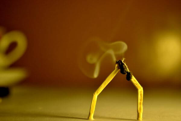 Matchstick Couple 2 photo