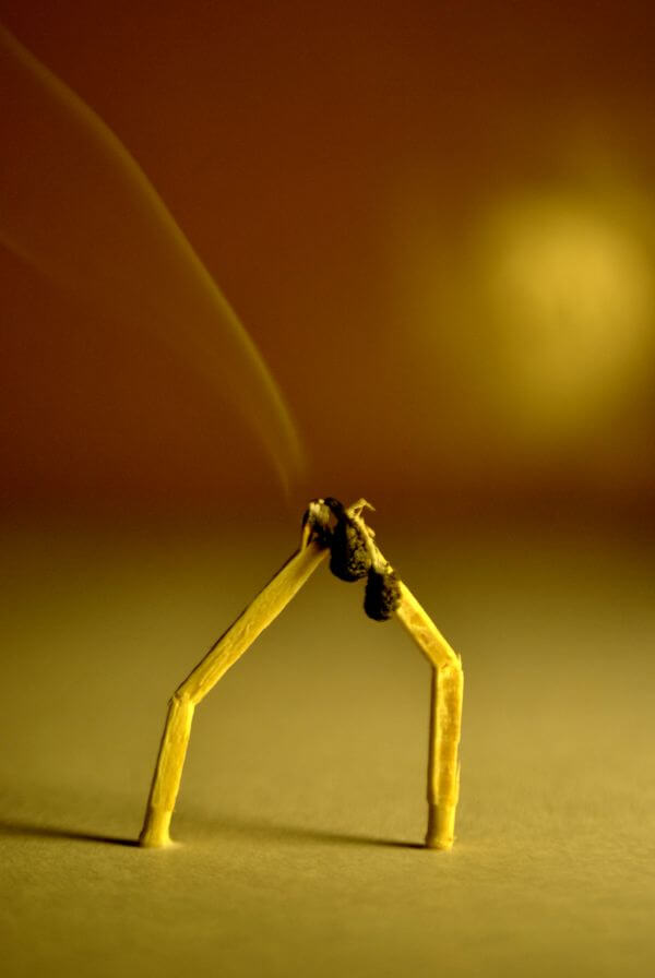 Matchstick Couple 3 photo