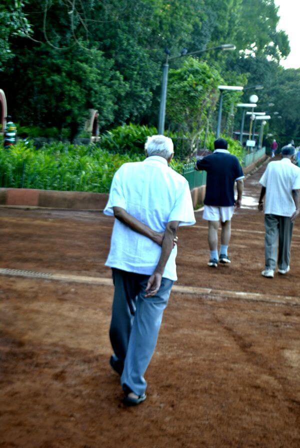 Old Man Walking photo