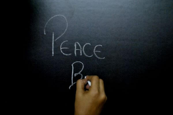 Peace Chalk photo
