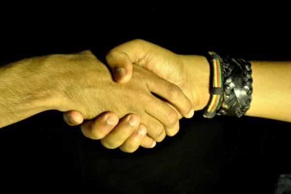 Shake Hands photo