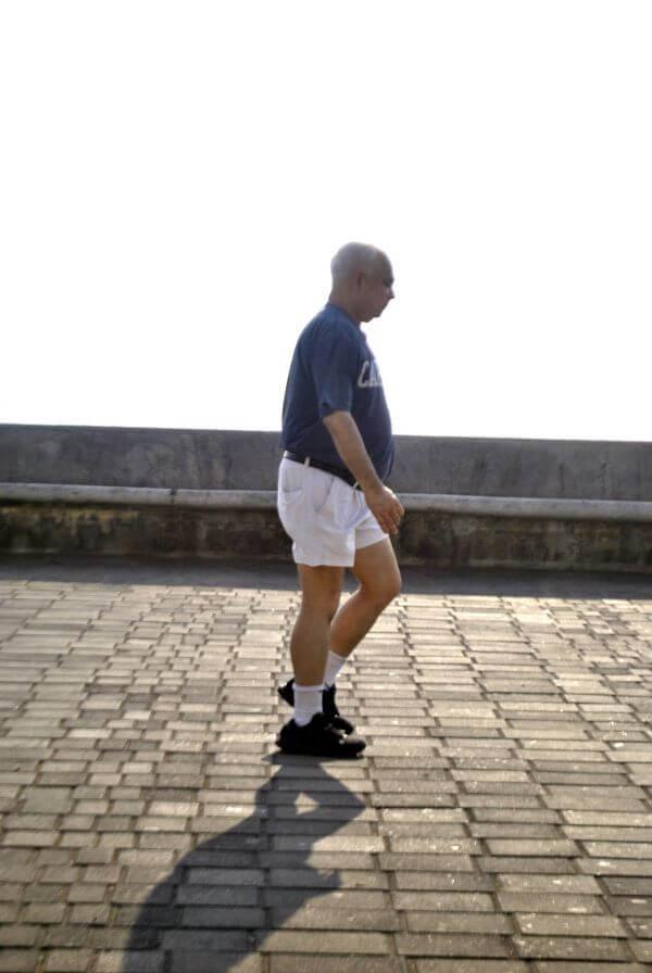 Walking Exercise Man photo