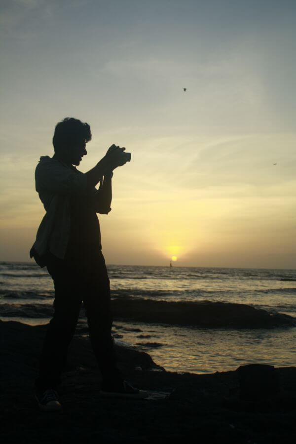 Photographer Sunset photo