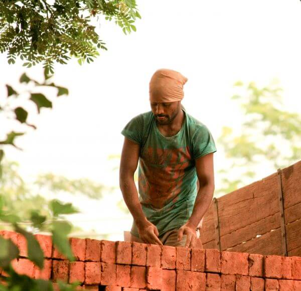Labourer India photo