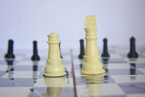 Chess Board Pieces photo