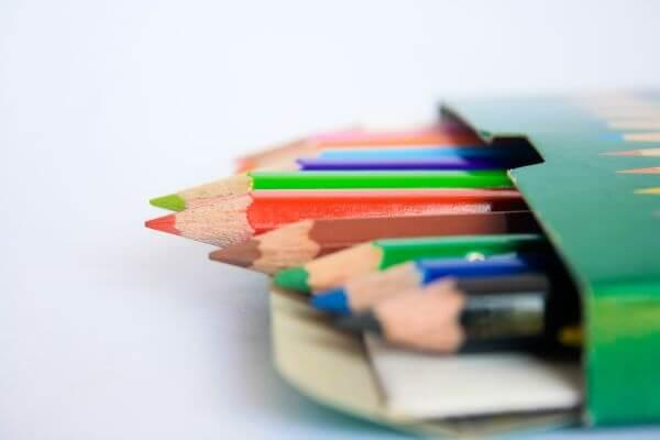 Colored Pencils Box photo
