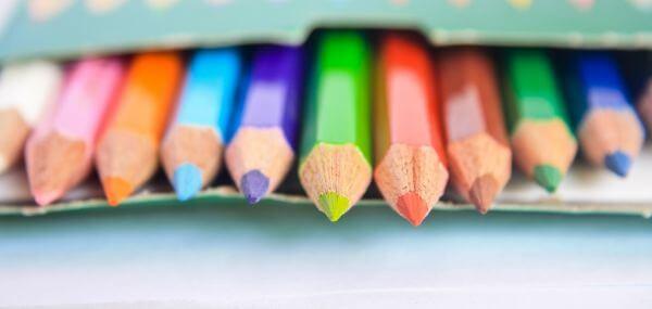 Colored Pencils Children photo