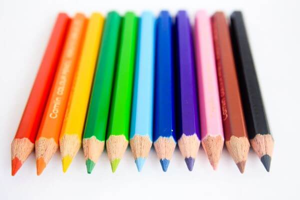 Lots Of Colors Pencils photo