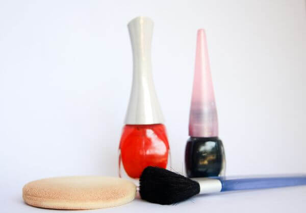 Makeup Instruments Girls photo