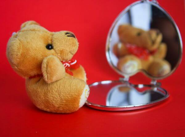 Teddy Bear Mirror Small photo