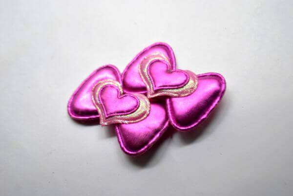 Bow Pink Hearts photo