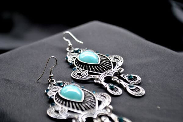 Earrings Beauty photo