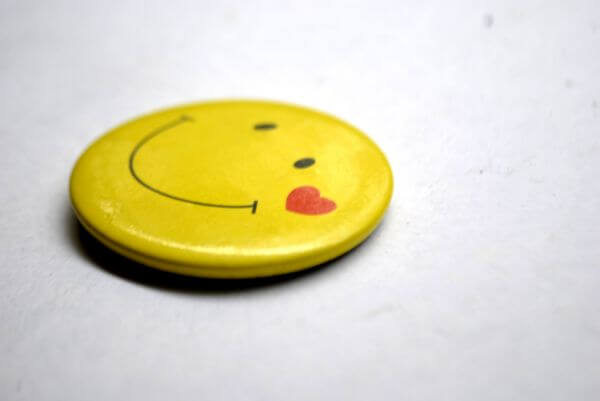 Smiley Button photo