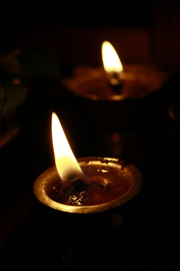 Two Oil Lamps photo