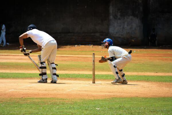 Cricket Action Practise Field photo